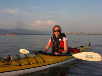 Sea kayaking in Vancouver with the Viking Sailing Club
