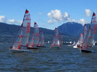 Tasar Racing in Vancouver
