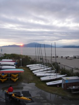 The Viking Sailing Club boat yard