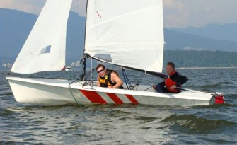 The joy of sailing on English Bay