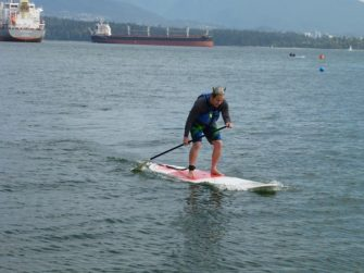 Stand-Up Paddleboarding in Vancouver, the Viking Way
