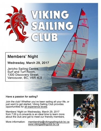 /homepages/26/d233055401/htdocs/www.vikingsailingclub.bc.ca/wp content/uploads/2017 Vikings Members Night Poster large