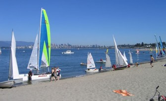 Jericho Beach Sailboats